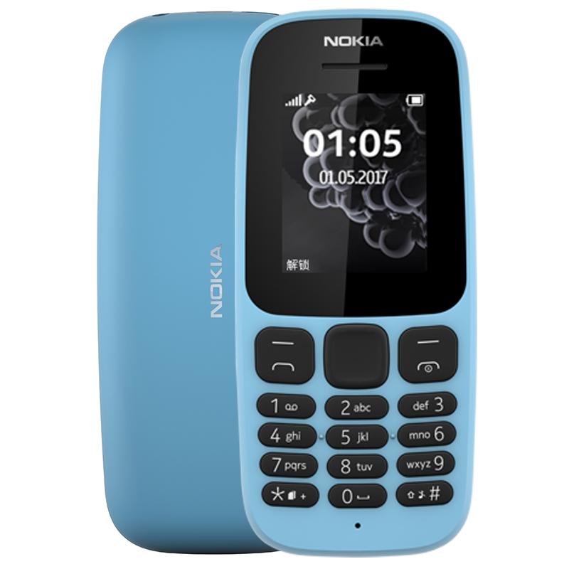 诺基亚 105 蓝色(TA-1010)