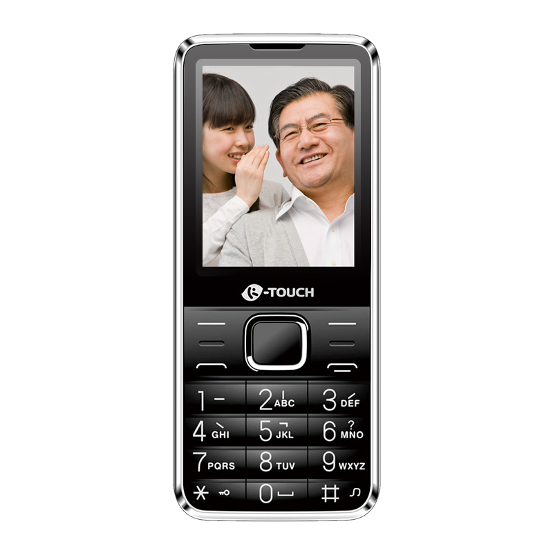 天语 K-Touch T2 黑色 GSM数字移动电话机