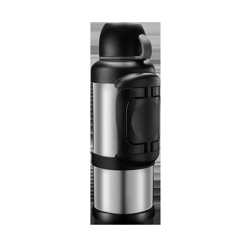 天喜(TIANXI) 保温壶 304不锈钢真空保温瓶家用大容量保温杯运动车载办公咖啡水壶暖水瓶 本色2200ml