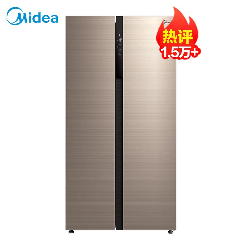 美的(Midea)541L对开门冰箱一级能效双变频温湿精控净味抑菌智能WIFI风冷无霜BCD-541WKPZM(E)