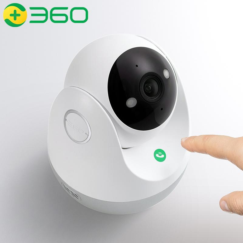 360摄像头300W云台AI版 2K高清WIFI监控器全彩夜视 室内家用手机无线网络远程智能摄像机+闪迪64G内存卡