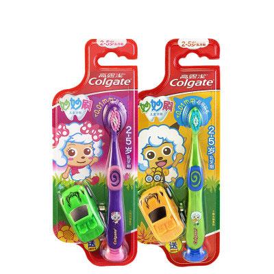 高露洁(Colgate)妙妙刷儿童牙刷(2-5岁) 单支装