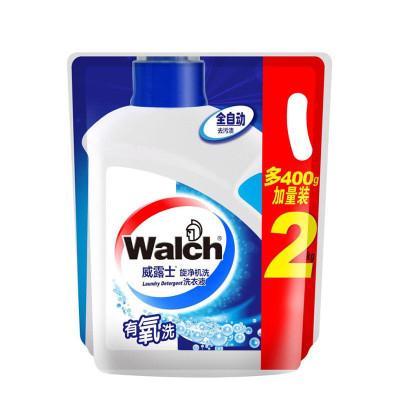 威露士 旋净机洗洗衣液袋装补充装 2kg