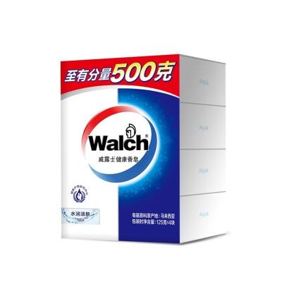 威露士健康香皂 水潤清新四盒裝125g x 4