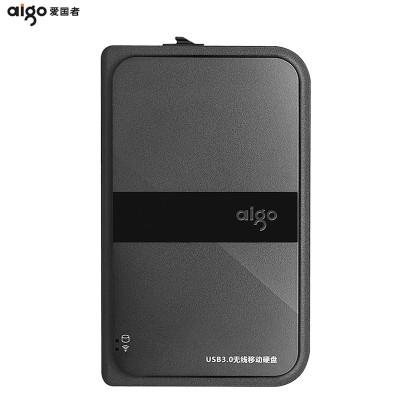爱国者(AIGO) 无线移动硬盘 HD816 高速usb3.0无线wifi存储 1TB